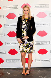 """Lulu Guinness Paint Project.<br /> Lauren Laverne attends the """"Lulu Guinness paint project in collaboration with beautiful crime and their artist Joseph Steele"""" Held at the old sorting office, Oxford street,<br /> London, United Kingdom<br /> Thursday, 11th July 2013<br /> Picture by Chris  Joseph / i-Images"""