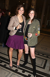 Left to right, GABRIELLA D'ANNUNZIO and EMERALD DANGERFIELD at a party to celebrate the publication of  'Put On Your Pearl Girls!' by Lulu Guinness held at the V&A museum, London on 5th May 2005.<br /><br />NON EXCLUSIVE - WORLD RIGHTS