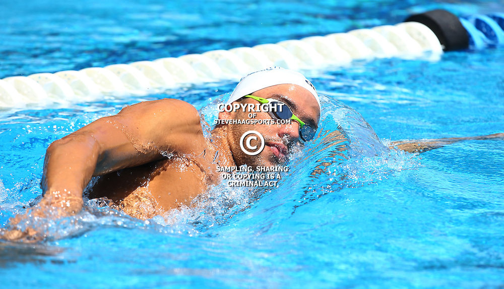 DURBAN, SOUTH AFRICA, February 6 2016 - Chad Le Clos during Day 2 the second&nbsp;leg of the 2016 South African Swimming Grand Prix series at the  Kings Park Swimming Pool Durban South Africa. (Photo by Steve Haag)<br /> Images for social media must have consent from Steve Haag