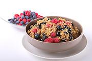 Apple and Berry Scented Quinoa by Christina Pirello