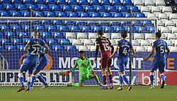 Aaron Chapman of Peterborough United cant prevent Bradford City from scoring a late equalising goal - Mandatory by-line: Joe Dent/JMP - 01/12/2018 - FOOTBALL - ABAX Stadium - Peterborough, England - Peterborough United v Bradford City - Emirates FA Cup second round proper