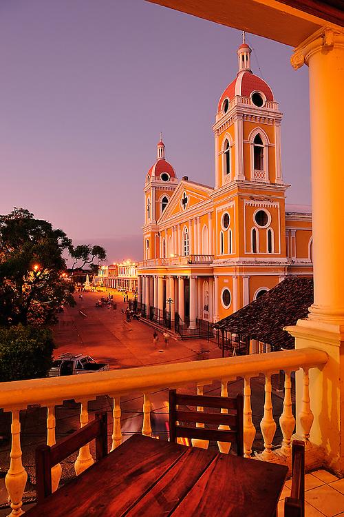 Colonial City Granada,Nicaragua,Central America.UNESCO World Heritage.