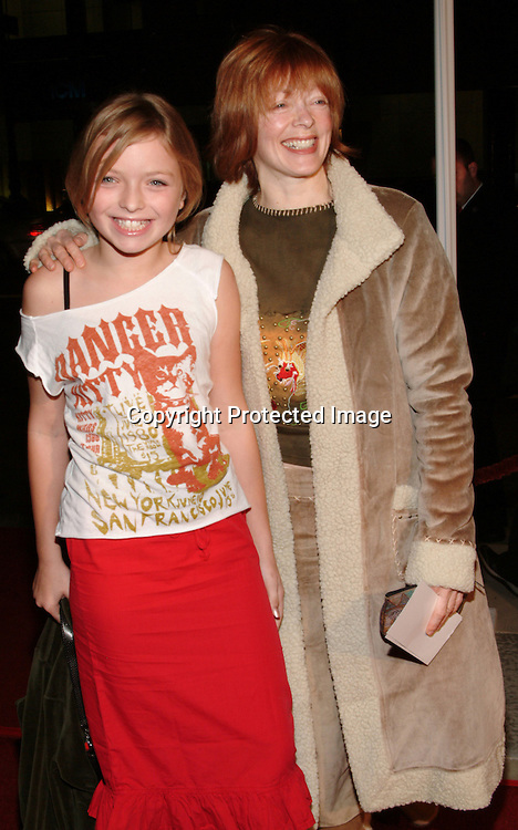 Frances Fisher and daughter Francesca Eastwood <br />&ldquo;In America&rdquo;Film Premiere <br />Academy of Motion Picture Arts and Sciences, Samuel Goldwyn Theatre<br />Beverly Hills, CA, USA  <br />Thursday, November, 20, 2003<br />Photo By Celebrityvibe.com/Photovibe.com