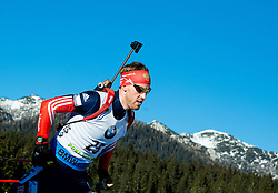 MALYSHKO Dmitry (RUS) competes during Men 15 km Mass Start at day 4 of IBU Biathlon World Cup 2014/2015 Pokljuka, on December 21, 2014 in Rudno polje, Pokljuka, Slovenia. Photo by Vid Ponikvar / Sportida