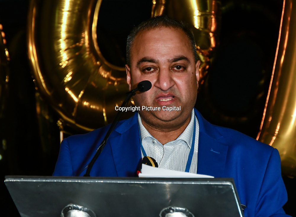 Kirit Mistry speaker at The BAME Donor Gala - Awareness gala hosted by the Health Committee with live music and poetry performances at City Hall at The Queen's Walk, London, UK. 18 March 2019.