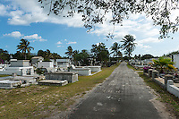 View of the famous Key West Cemetery