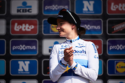 Third place for Marianne Vos (NED) at Brabantse Pijl 2018, a 136.8 km road race starting and finishing in Gooik on April 11, 2018. Photo by Sean Robinson/Velofocus.com