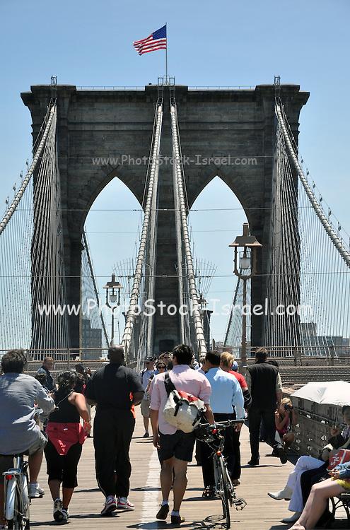 Brooklyn Bridge, New York City, USA