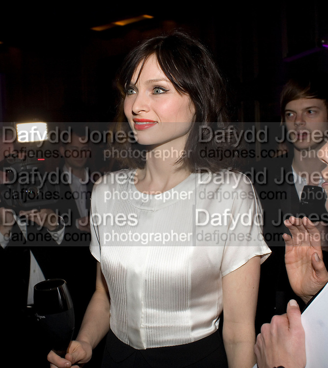 Sophie Ellis-Bextor, Dom Perignon and Claudia Schiffer host a celebration of Dom Perignon Oenotheque 1995. The Landau, Portland Place. London W1. 26 February 2008.  *** Local Caption *** -DO NOT ARCHIVE-© Copyright Photograph by Dafydd Jones. 248 Clapham Rd. London SW9 0PZ. Tel 0207 820 0771. www.dafjones.com.