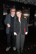 KATIE WYMAN; BILL WYMAN, Liberatum Cultural Honour  for John Hurt, CBE in association with artist Svetlana K-Lié.  Spice Market, W London - Leicester Square