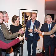 NLD/Utrecht/20190309 - Onthulling  Mies Bouwman Foyer, Antje Monteiro, Albert Verlinde, zoon Joost Timp, Mies Timp, Robert ten Brink, burgemeester Jan van Zanen