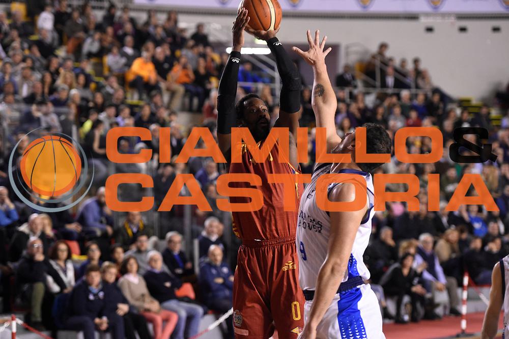 John Brown<br /> Roma Gas &amp; Power Roma - Unicusano Roma<br /> Campionato Basket LNP 2016/2017<br /> Roma 12/03/2017<br /> Foto Ciamillo-Castoria