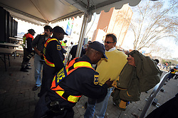 Johannesburg South Africa Opening Ceremony Confederations Cup 2009 14.06.2009.Security checks.
