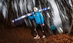 05.01.2014, Paul Ausserleitner Schanze, Bischofshofen, AUT, FIS Ski Sprung Weltcup, 62. Vierschanzentournee, Qualifikation, im Bild Thomas Diethart (AUT) // Thomas Diethart (AUT) during qualification Jump of 62nd Four Hills Tournament of FIS Ski Jumping World Cup at the Paul Ausserleitner Schanze, Bischofshofen, Austria on 2014/01/05. EXPA Pictures © 2014, PhotoCredit: EXPA/ JFK