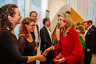 King Willem-Alexander and Queen Maxima of The Netherlands offer an concert to Grand Duke Henri, Grand Duchess Maria Teresa, Hereditary Grand Duke Guillaume and Hereditary Grand Duchess Stephanie at the Philharmonie in Luxembourg 24 May 2018. The Dutch King and Queen are in Luxembourg for an three day state visit. Photo: robin Utrecht