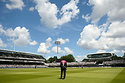 Peter Trego of Somerset out on the boundary during the Royal London 1 Day Cup Final match between Somerset County Cricket Club and Hampshire County Cricket Club at Lord's Cricket Ground, St John's Wood, United Kingdom on 25 May 2019.