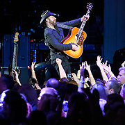 COLUMBIA, MD - May 22nd, 2011: Kristian Bush of Sugarland performs at Merriweather Post Pavilion. The band released their fourth album, The Incredible Machine, in October of 2010. (Photo by Kyle Gustafson/For The Washington Post)