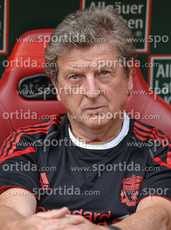 24.07.2010, Fritz-Walter Stadion, Kaiserslautern, GER, 1. FBL, Friendly Match, 1.FC Kaiserslautern vs FC Liverpool, im Bild Roy HODGSON (Trainer Liverpool), EXPA Pictures © 2010, PhotoCredit: EXPA/ nph/  Roth+++++ ATTENTION - OUT OF GER +++++ / SPORTIDA PHOTO AGENCY