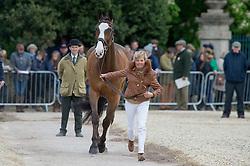 Harwood Louise, (GBR), Mr Potts<br /> First Horse Inspection - Mitsubishi Motors Badminton Horse Trials <br /> Badminton 2015