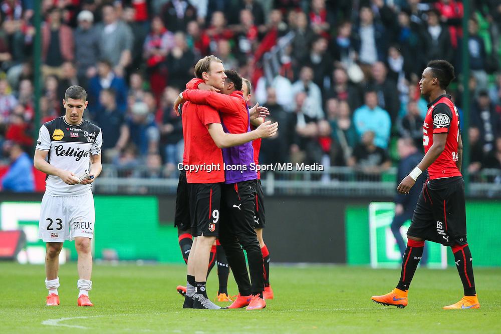 Joie Ola TOIVONEN - 12.04.2015 - Rennes / Guingamp - 32eme journee de Ligue 1 <br /> Photo : Vincent Michel / Icon Sport
