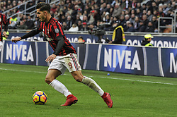 November 26, 2017 - Milan, Italy - André Silva of AC Milan during Italian serie A match AC Milan vs Torino FC at San Siro Stadium  (Credit Image: © Gaetano Piazzolla/Pacific Press via ZUMA Wire)