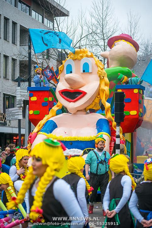 NLD/Eindhoven/20190302 - Romario bij carnavalsoptocht 2019 in Eindhoven,