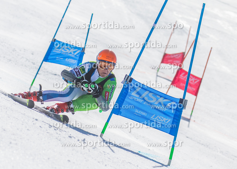 young skiers during the paralell gaint slalom race for National Championship of Slovenia 2019, on March 30, 2019, on Krvavec, Slovenia. Photo by Urban Meglic / Sportida