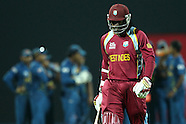 ICC World Twenty20 Super 8s - Sri Lanka v West Indies 29th September 2012