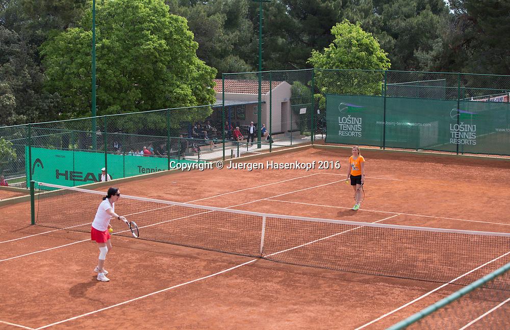 Zischka Tennis Camp Losinj in Kroatien<br /> <br /> travel - Zischka Tennis Camp  -  -  Punta Vitality Hotel - Losinj - Kvarner - Croatia  - 9 May 2016. <br /> &copy; Juergen Hasenkopf