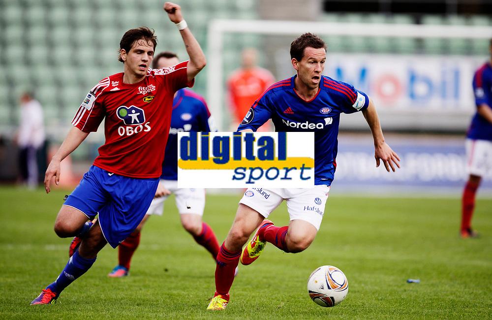 Fotball<br /> 2. runde i NM Cup<br /> Bislett Stadion , 09.05.12<br /> Skeid - V&aring;lerenga<br /> Morten BErre<br /> Foto: Eirik F&oslash;rde