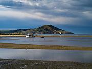 Views near and of Karitane, Otago, New Zealand; June 2013.