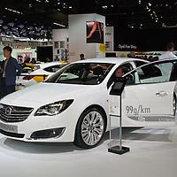 Vauxhall/Opel Insignia at the IAA 2013, Frankfurt, Germany
