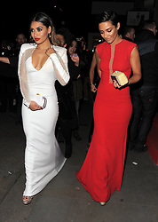 Vanessa White and Frankie Sandford attend the Cosmopolitan Ultimate Women Of The Year Awards at One Mayfair, London, UK. 03/12/2014<br />
