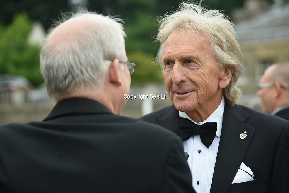Guests attend The Motor Sport Hall of Fame will return to the spectacular Royal Derek Bell attend The Motor Sport Hall of Fame will return to the spectacular Royal Automobile Club at Woodcote Park, Surrey, London, UK. 4 June 2018.Club at Woodcote Park, Surrey, London, UK. 4 June 2018.