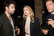 CONRAD SHAWCROSS; Carolina Mazzolari: ROBIN SCOTT-LAWSON, Serpentine Gallery and Harrods host the Future Contempories Party 2016. Serpentine Sackler Gallery. London. 20 February 2016