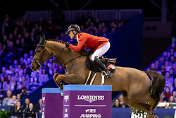 Schwizer Pius, SUI, Cortney Cox<br /> Jumping Amsterdam 2019<br /> © Hippo Foto - Dirk Caremans<br /> 27/01/2019