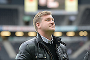 Milton Keynes Dons manager Karl Robinson during the EFL Sky Bet League 1 match between Milton Keynes Dons and Southend United at stadium:mk, Milton Keynes, England on 22 October 2016. Photo by Dennis Goodwin.