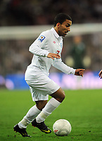 Wembley Stadium England v Belarus (3-0) World Cup Qualifying Group 6 14/10/2009<br /> Aaron Lennon (England) <br /> Photo Roger Parker Fotosports International