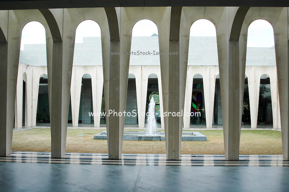 Domus Galilaeae Centre Photostock Israel Licensed Stock Photography