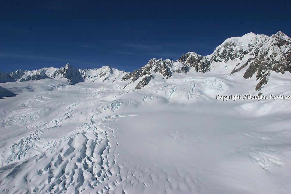 Fox Glacier, Southern Alps, West Coast, South Island, New Zealand