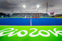 RIO DE JANEIRO  -  Olympic  Final hockey men, Belgium-Argentina (2-4) .  The stadium  COPYRIGHT KOEN SUYK
