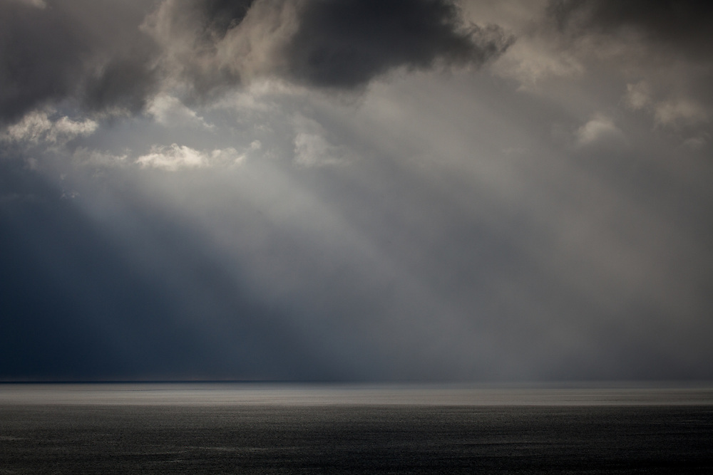 Dramatic weather of the west coast of Orkney (Yesnaby)