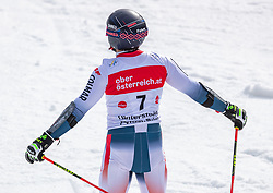 02.03.2020, Hannes Trinkl Weltcupstrecke, Hinterstoder, AUT, FIS Weltcup Ski Alpin, Riesenslalom, Herren, 2. Lauf, im Bild Mathieu Faivre (FRA) // Mathieu Faivre of France reacts after his 2nd run of men's Giant Slalom of FIS ski alpine world cup at the Hannes Trinkl Weltcupstrecke in Hinterstoder, Austria on 2020/03/02. EXPA Pictures © 2020, PhotoCredit: EXPA/ Johann Groder