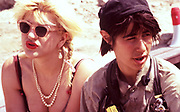 Courtney love in the Alex Cox film Straight to Hell 1987
