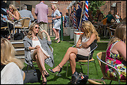 ANNA MCMILLAN; SHANNON MOONEY, Ebor Festival, York Races, 20 August 2014