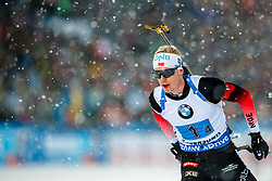 March 16, 2019 - –Stersund, Sweden - 190316 Johannes Thingnes Bø of Norway competes in the Men's 4x7,5 km Relay during the IBU World Championships Biathlon on March 16, 2019 in Östersund..Photo: Johan Axelsson / BILDBYRÃ…N / Cop 245 (Credit Image: © Johan Axelsson/Bildbyran via ZUMA Press)