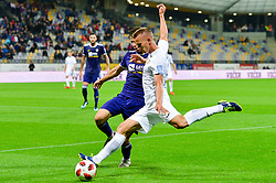 football match between NK Maribor and NK Domzale in 9th Round of Prva liga Telekom Slovenije 2018/19, on August 05, 2018 in Ljudski vrt, Maribor, Slovenia. Photo by Mario Horvat / Sportida