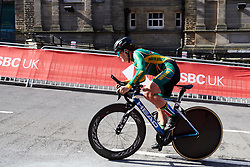 Frances Janse van Rensburg (RSA) at UCI Road World Championships 2019 Junior Women's TT a 13.7 km individual time trial in Harrogate, United Kingdom on September 23, 2019. Photo by Sean Robinson/velofocus.com