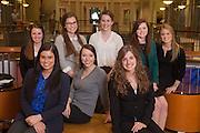 The executive board of Ohio Women in Business.  Photo by Ohio University / Jonathan Adams