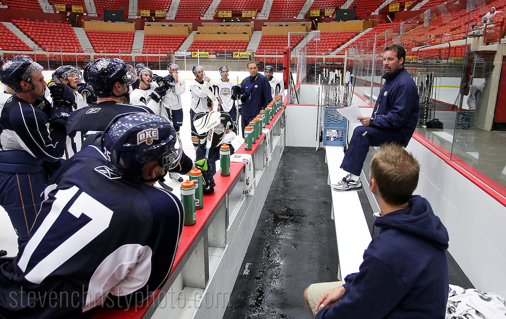 September 26, 2011: The Oklahoma City Barons begin their 2011-12 American Hockey League training camp at the Cox Convention Center in Oklahoma City.
